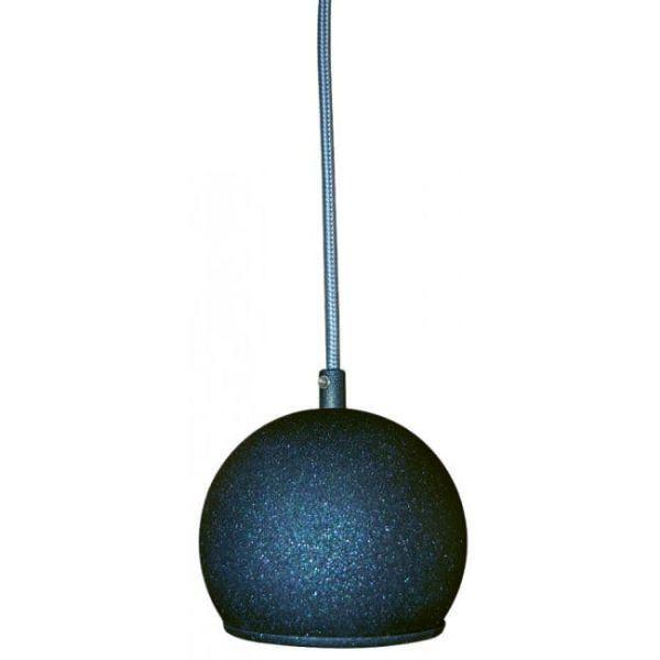 lampa wisząca kula grafitowa metalowa