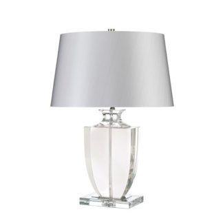 Lampa stołowa w stylu nowojorskim - Crystal Block - kryształowa