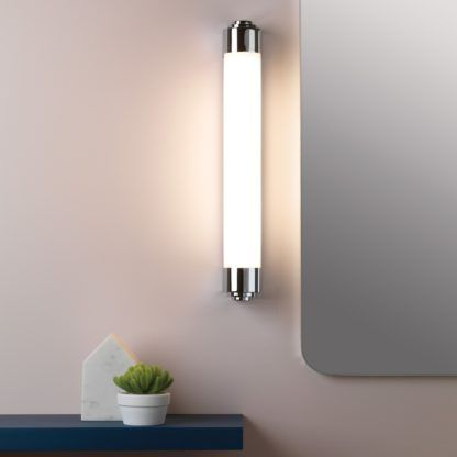 nowoczesny kinkiet nad lustro do łazienki