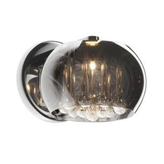 Kinkiet - Crystal - Zuma Line - szkło, kryształki