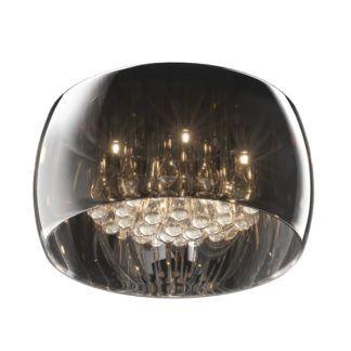 Lampa sufitowa - Plafon Crystal 40cm - Zuma Line - szkło, kryształki