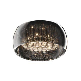 Plafon Crystal z kryształkami - Zuma Line - szkło, kryształki