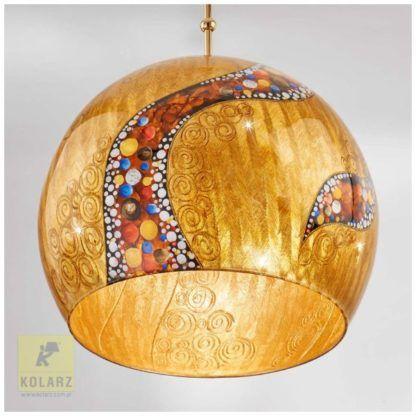 lampa z kloszem ze szkła luksusowa