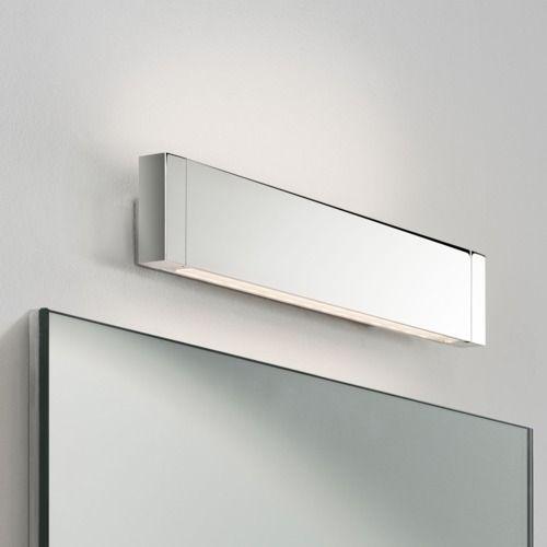 nowoczesny kinkiet nad lustro