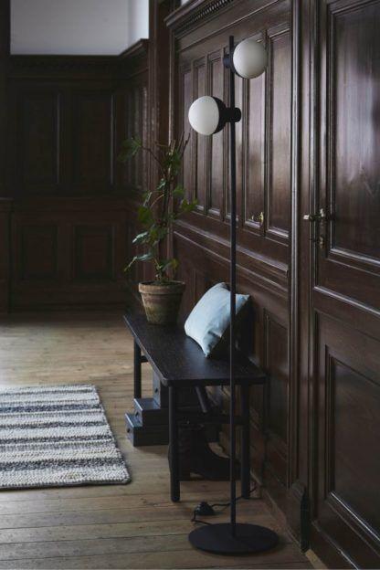lampa podłogowa nowoczesna - aranżacja