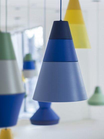 kolorowe lampy wiszące