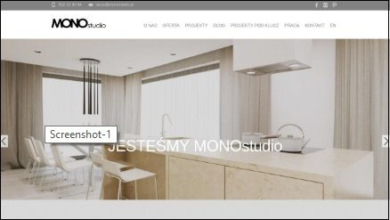 MONOstudio - Biuro projektowe
