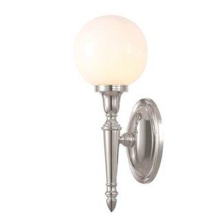 Kinkiet kula - Vitta - Ardant Decor - srebrny, szklany, IP44