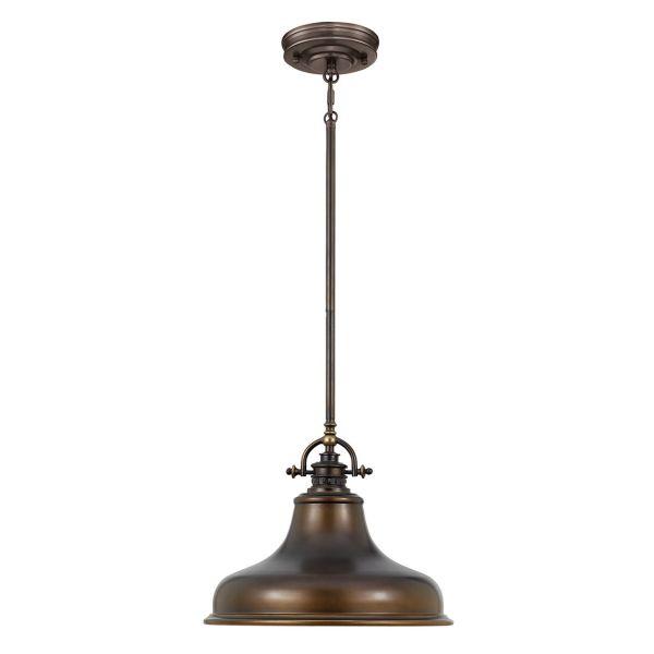 metalowa, industrialna lampa wisząca