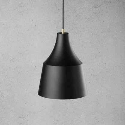 czarna lampa skandynawska do kuchni