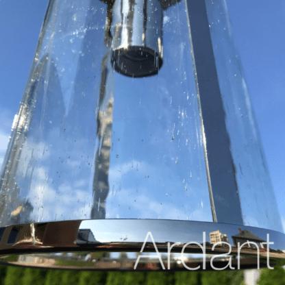 lampa z efektem kropli na kloszu
