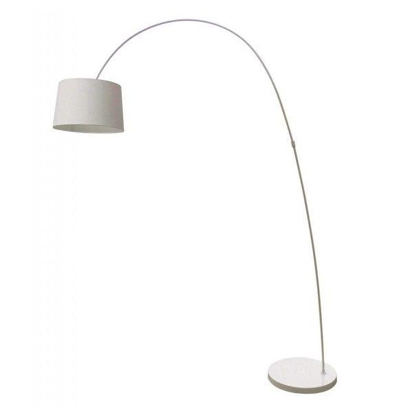 Lampa podłogowa - Constanza - Zuma Line - biała