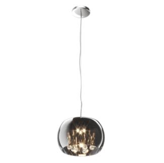 Nowoczesna lampa wisząca - Crystal - Zuma Line - szkło, kryształki