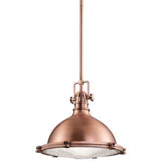 Industrialna lampa wisząca Jackson - Ardant Decor - mała, miedź