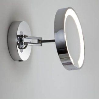 Podświetlane lustro Catena - Astro Lighting - IP44, polerowany chrom