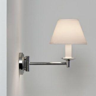 Stylowy kinkiet Grosvenor - Astro Lighting - chrom, IP44