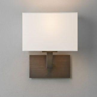 Elegancki kinkiet Connaught - Astro Lighting - ciemny brąz