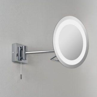 Podświetlane lustro Gena - Astro Lighting - polerownay chrom, okrągłe