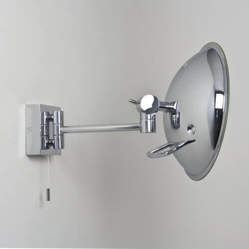 Podświetlane Lustro Gena Astro Lighting Polerownay Chrom Okrągłe