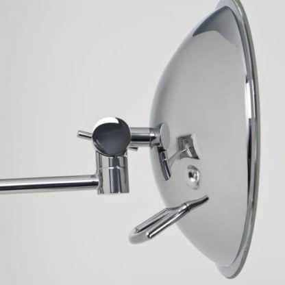lustro podświetlane panelem LED, oświetlenie do równomiernego rozświetlenia twarzy przy makijażu, domowe oświetlenie do make up