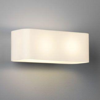 Szklany kinkiet Obround - Astro Lighting - biały, nowoczesny