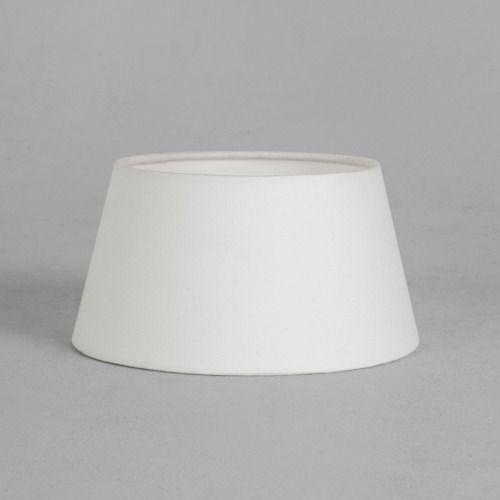biały, owalny abażur