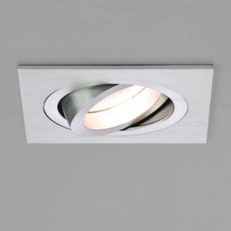 Regulowane oczko sufitowe Taro Square - Astro Lighting - srebrne
