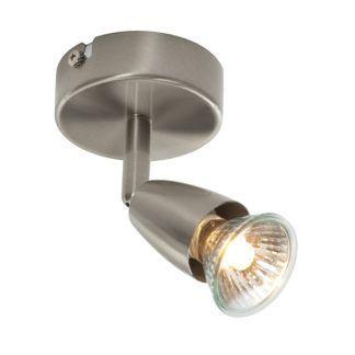 Nowoczesny reflektor sufitowy Amalfi - Endon Lighting - srebrny