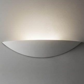 Gipsowy kinkiet Slice - Astro Lighting - biały, LED