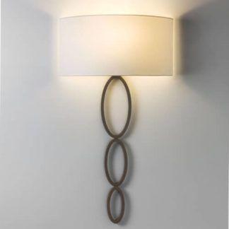 Stylowy kinkiet Valbonne - Astro Lighting - brązowy, dekoracyjny