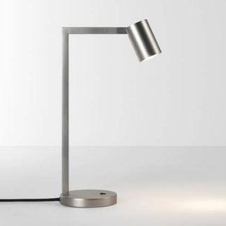 Geometryczna lampa stołowa Ascoli - Astro Lighting - matowy nikeil