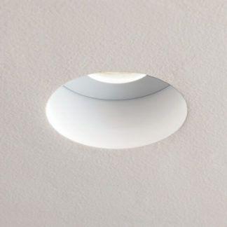 Wpuszczane oczko sufitowe Trimless Round - Astro Lighting - biały  mat
