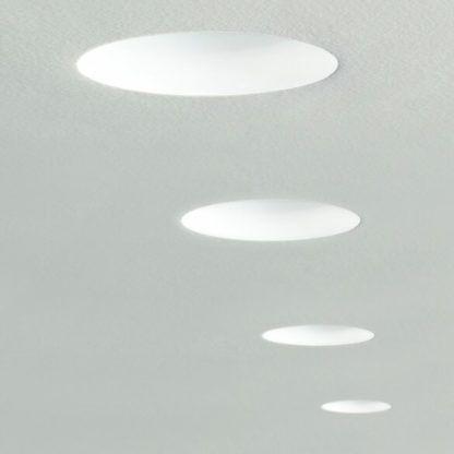 okrągłe oczka wpuszczane w sufit