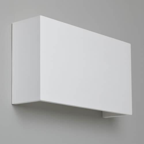 Biały kinkiet Pella - Astro Lighting - gipsowy