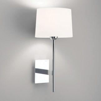 Elegancki kinkiet Lloyd - Astro Lighting - długie ramię, polerowany chrom