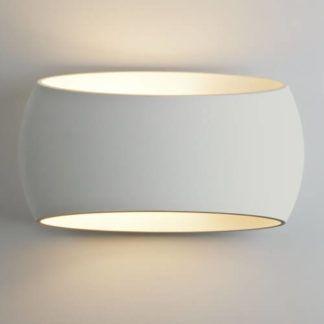 Dekoracyjny kinkiet Aria - Astro Lighting - gipsowy