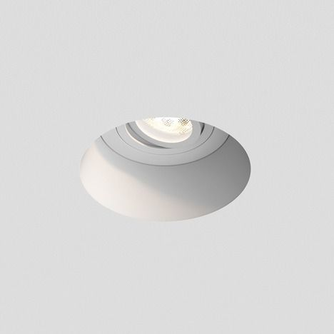 białe oczko wpuszczane z regulacją kąta światła