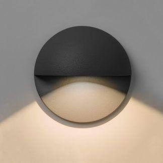 Minimalistyczny kinkiet Tivoli - Astro Lighting - czarny, LED
