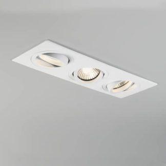 Potrójne oczko sufitowe Taro - Astro Lighting - białe, nowoczesne