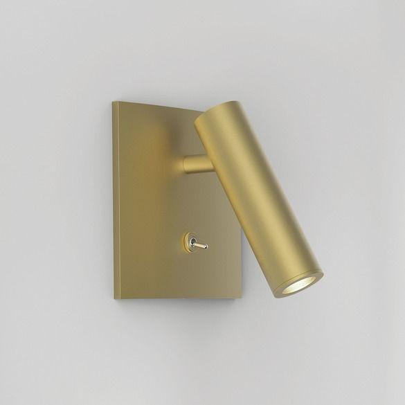 Kinkiet Enna Square LED - Astro Lighting - złoty, matowy
