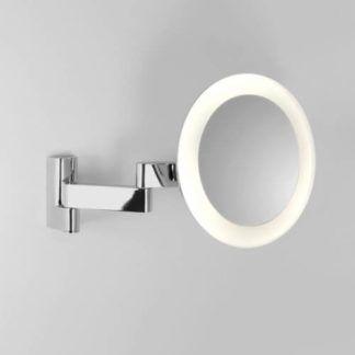 Podświetlane lustro Niimi Round - Astro Lighting - polerowany chrom