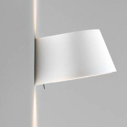 oryginalny, gipsowy kinkiet do samodzielnego pomalowania, biały kinkiet dekoracyjny