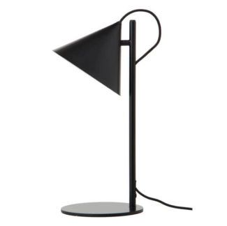 Metalowa lampa stołowa Benjamin - Frandsen Lighting - czarna
