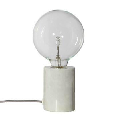 industrialna lampa stołowa na żarówkę edisona