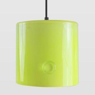Lampa wisząca Neo I - Gie El Home - szklana, żółta