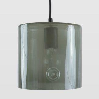 Lampa wisząca Neo I - Gie El Home - szklana, szara