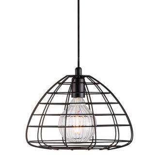 Druciana lampa wisząca - Esk - Nordlux - czarna