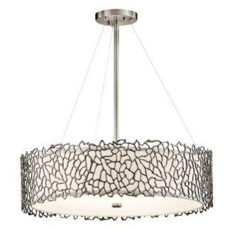 Dekoracyjna, duża lampa wisząca Adeza - Ardant Decor - metalowa