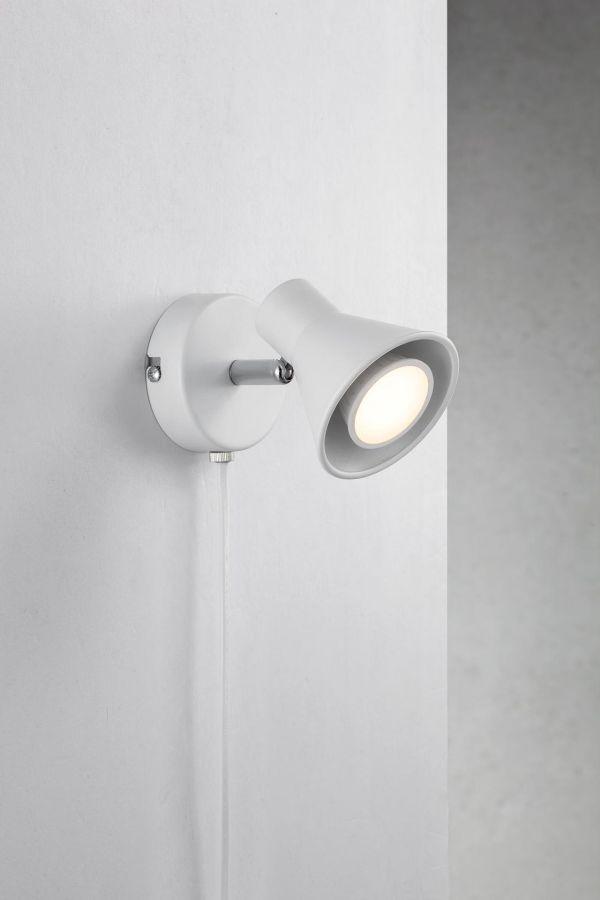 Super Minimalistyczny kinkiet Eik – Nordlux – biały reflektor | Ardant.pl ZP03