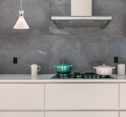 lampa do kuchni - biała wisząca